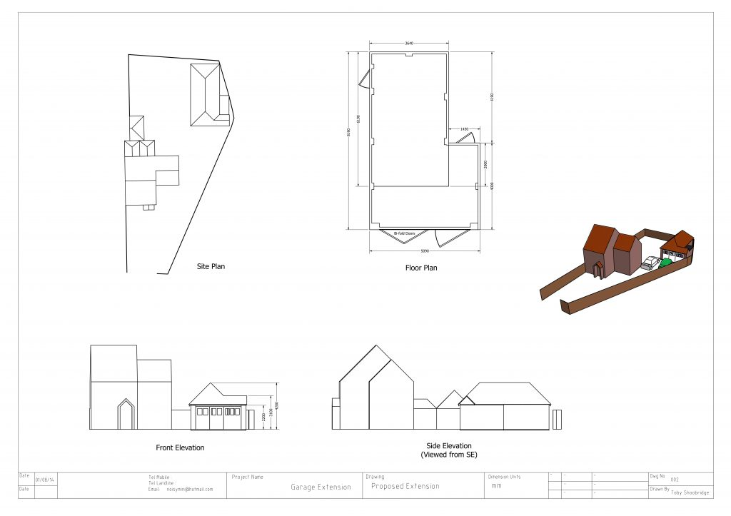 1-Willow-Cottage-Proposed-Garage-Extension-1-e
